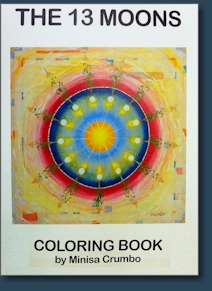 The 13 Moons Coloring Book