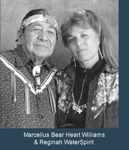 Marcellus Bearheart Williams & Regina WaterSpirit