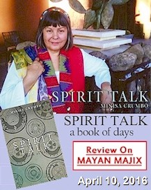 Mayan Majix Book Review: Spirit Talk a book of days